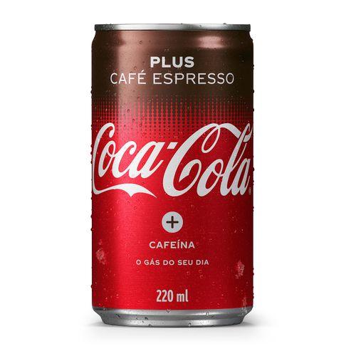 Lata Coca-Cola Café 220ml