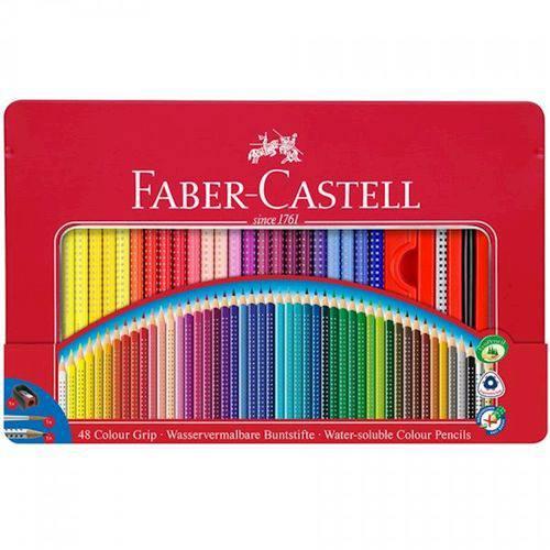Lata Ecolapis de Cor Grip 48 Cores Faber Castell
