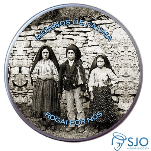 Latinha de Meninos de Fátima | SJO Artigos Religiosos