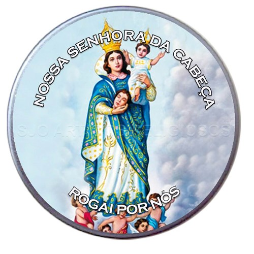 Latinha de Nossa Senhora da Cabeça | SJO Artigos Religiosos