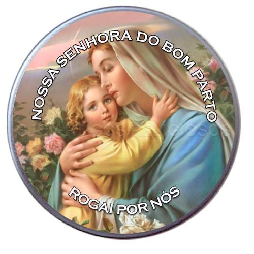 Latinha de Nossa Senhora do Bom Parto | SJO Artigos Religiosos