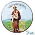 Latinha de São Benedito | SJO Artigos Religiosos