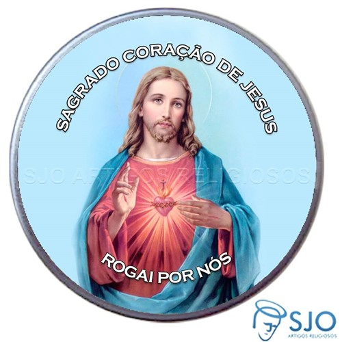 Latinha do Sagrado Coração de Jesus | SJO Artigos Religiosos