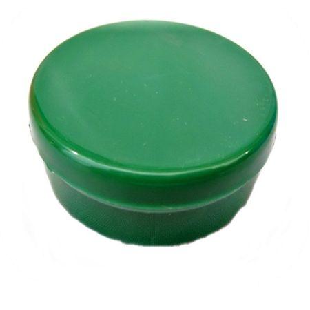 Latinha Plástica Verde - 20 Unidades