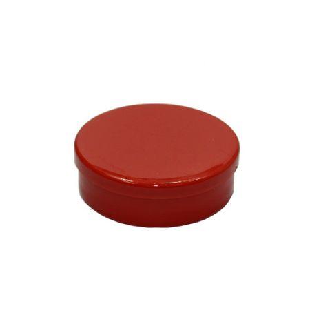 Latinha Plástica Vermelha - 20 Unidades