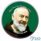 Latinha São Pio de Pietrelcina   SJO Artigos Religiosos
