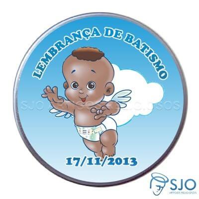 Latinhas Personalizadas - Batismo - Mod.03   SJO Artigos Religiosos