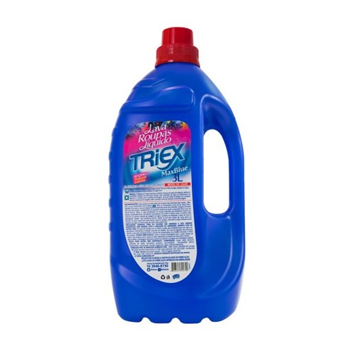 Lava Roupa Líquido Triex Max Blue 3l