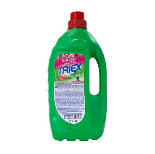 Lava Roupa Líquido Triex Max Green 3l