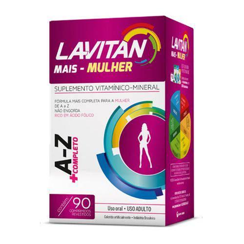 Lavitan Az Mais Mulher 90 Cápsulas