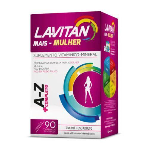 Lavitan Az Mais Mulher Suplemento Vitamínico C/90