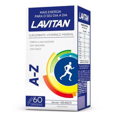 Lavitan Az Suplemento Vitamínico Drágeas C/60