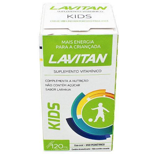 Lavitan Kids Solução Oral 120ml