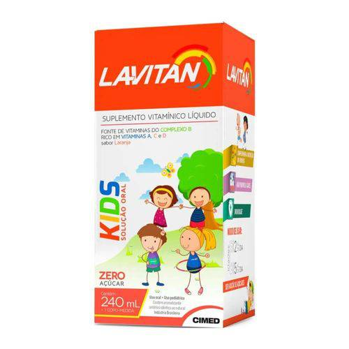 Lavitan Kids Suplemento Vitamínico Suspensão Oral 240ml