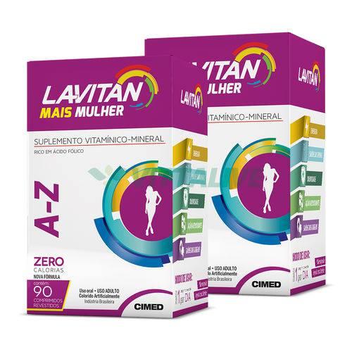 Lavitan Kit 2x Mais A-z Mulher 90 Comp