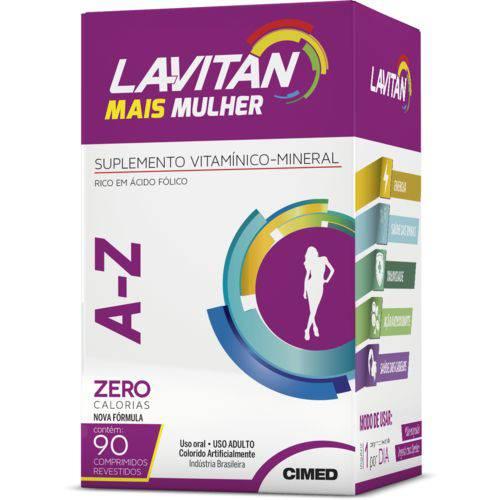 Lavitan Mais A-z Mulher 90 Comp