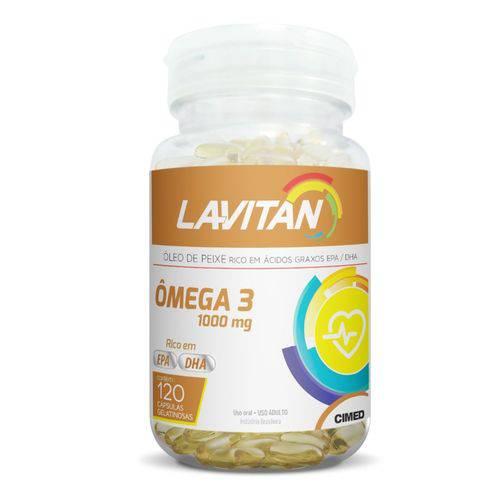 Lavitan Omega 3 1000mg 120 Caps
