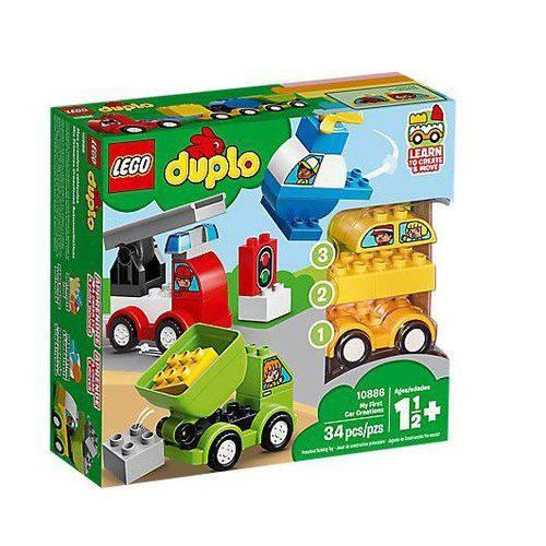 Lego as Minhas Primeiras Criações de Veículos