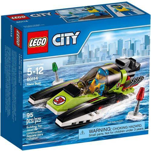 Lego - Barco de Corrida - Lego City - 60114