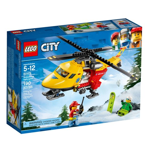 Lego City - Helicoptero Ambulancia