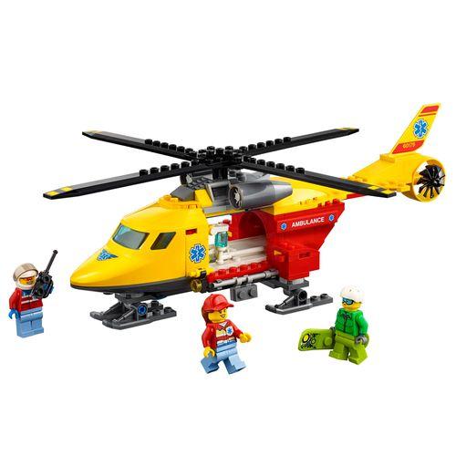 LEGO City - Helicóptero-Ambulância