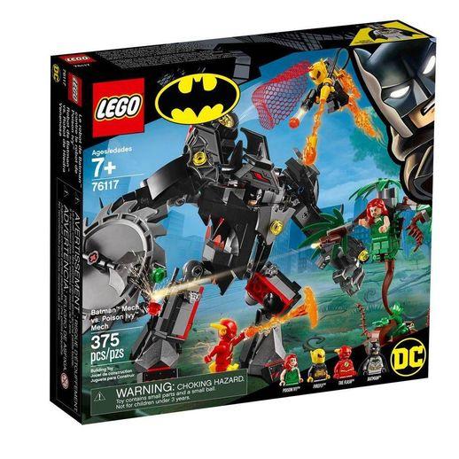 Lego DC Comics Super Heroes 76117 Batman Robô Vs. Poison Ivy Robô - Lego