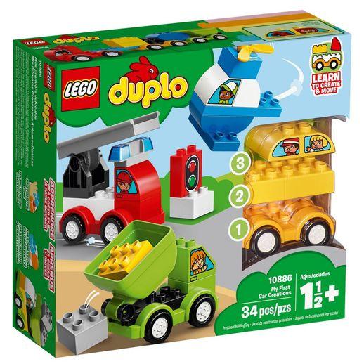 Lego Duplo 10886 as Minhas Primeiras Criações de Veículos - Lego