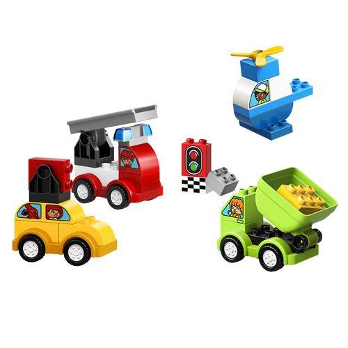 LEGO DUPLO - Minhas Primeiras Criações de Carros