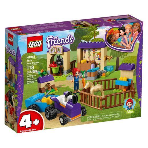Lego Friends 41361 Estábulo do Potro da Mia - Lego