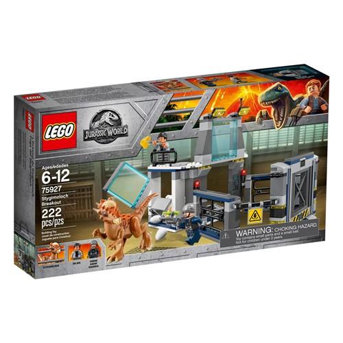 Lego - Jurassic World - a Fuga do Laboratorio Stygimoloch