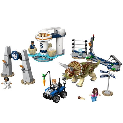 LEGO Jurassic World - Fúria do Triceratops
