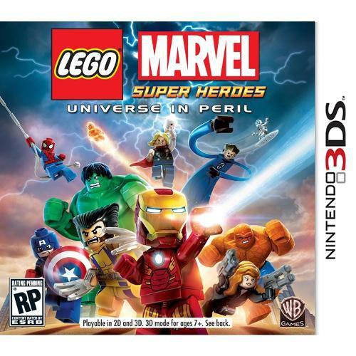 Lego Marvel Super Heroes - 3ds