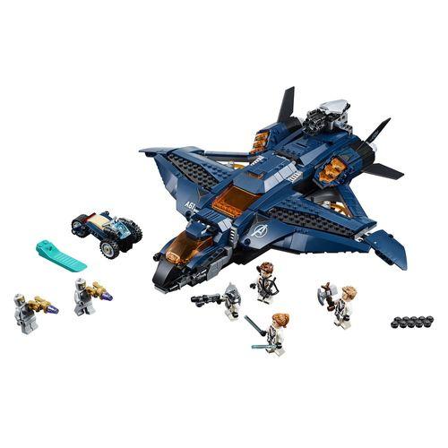 LEGO Marvel Super Heroes - Quinjet dos Vingadores