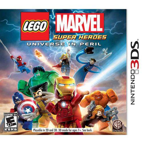 Lego Marvel Super Heroes Universe In Peril N3ds