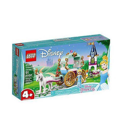 Lego o Passeio de Carruagem da Cinderela