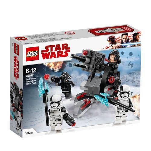 LEGO Star Wars 75197 Pack de Combate Especialistas da Primeira Ordem - LEGO