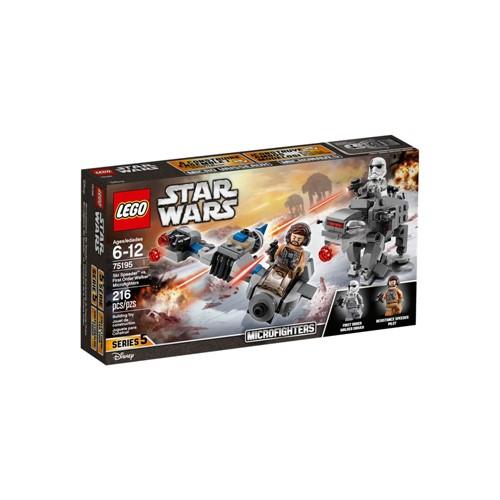 Lego Star Wars Microfighters Ski Speeder Vs First Order Walker