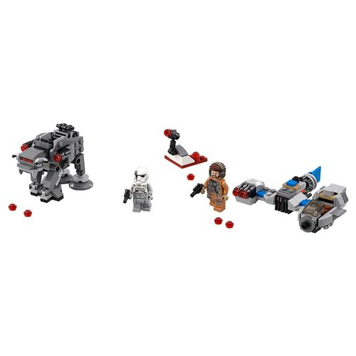 LEGO Star Wars - Microfighters Ski Speeder Vs. Walker de Assalto da Primeira Ordem