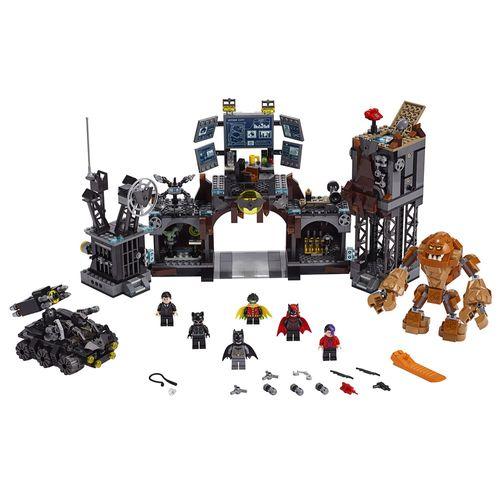 LEGO Super Heroes DC Comics - BatCaverna: Invasão do Cara de Barro