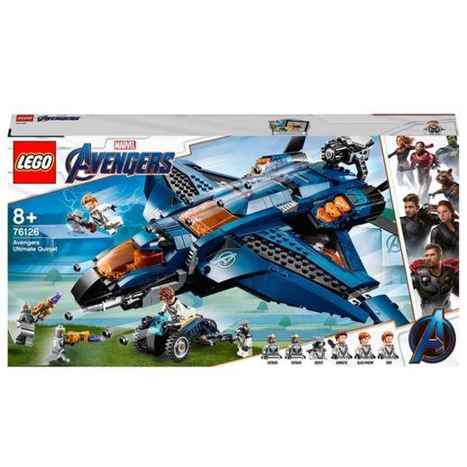 Lego Super Heroes Marvel 76126 o Quinjet dos Vingadores - Lego