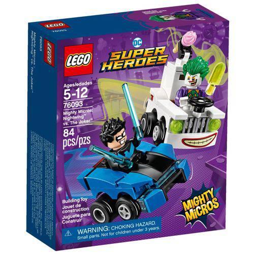 Lego Super Heroes - Mighty Micros: Asa-Noturna Vs Coringa 76093 - Lego