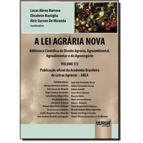 Lei Agrária Nova, a - Vol.3