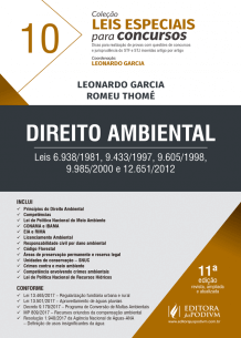 Leis Especiais para Concursos - V.10 - Direito Ambiental (2018)