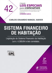Leis Especiais para Concursos - V.42 - Sistema Financeiro de Habitação (2018)