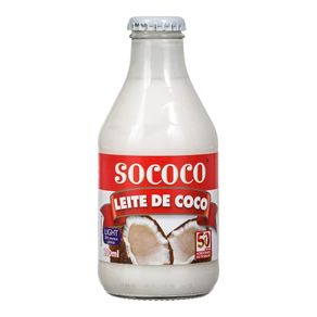Leite de Coco Light Sococo 200mL