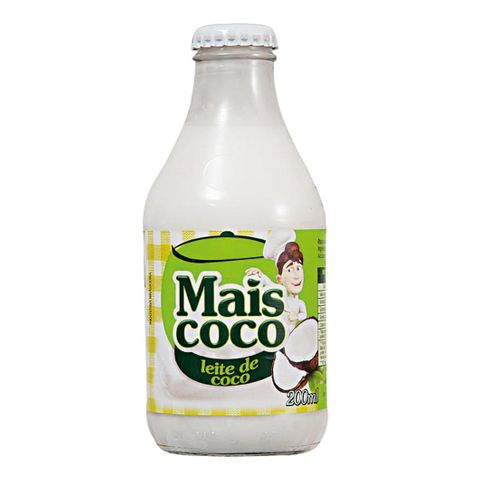 Leite de Coco Mais Coco 200ml - Sococo
