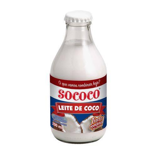 Leite de Coco Rtc 200ml - Sococo