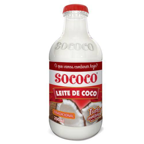 Leite de Coco Sococo 200ml - 24 Unidades