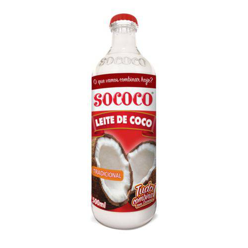 Leite de Coco Sococo 500ml - 12 Unidades