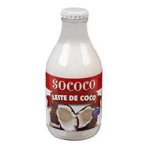 Leite de Coco Sococo Light 200ml